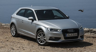 2014 Audi A3 with License plate D9FSVPA