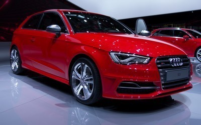 2014 Audi S3 with License plate QGHVF