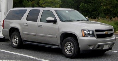 2008 Chevrolet Suburban with License plate 7EOEHSR