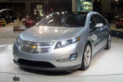2012 Chevrolet Volt with License plate UGEMA61