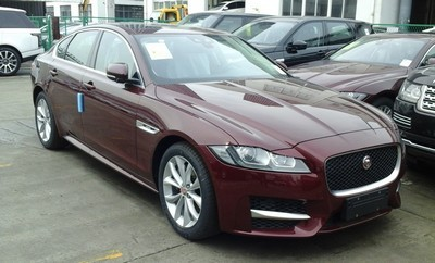 2009 Jaguar XF with License plate 9E9VSID