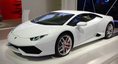 2015 Lamborghini Huracan with License plate 7ZE9YXF
