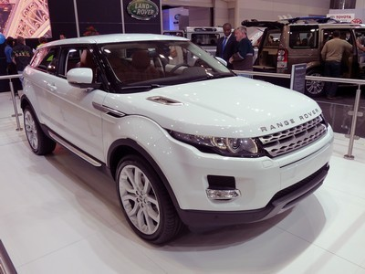 2011 Land Rover Range Rover Evoque with License plate EQPX6UE
