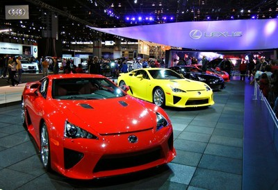 2011 Lexus LFA with License plate EQPX6U5