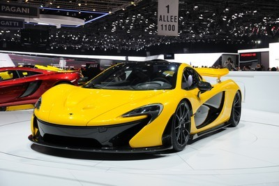 2014 McLaren P1 with License plate 38CFG