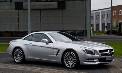2007 Mercedes-Benz SL-Class with License plate 9XF0UYQ
