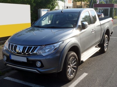 2007 Mitsubishi L200 with License plate MAIG