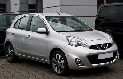 2012 Nissan Micra with License plate Q10N