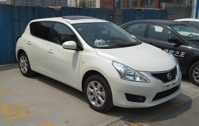 2005 Nissan Tiida with License plate TVNZT1L
