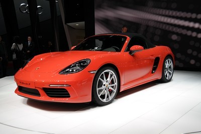 2005 Porsche Boxster with License plate CL46U9B