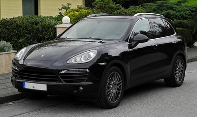 2007 Porsche Cayenne with License plate J3NJ94
