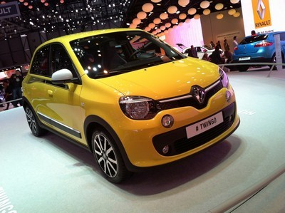 2009 Renault Twingo with License plate PBU16