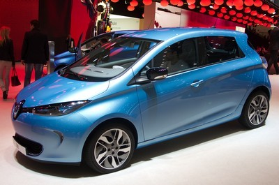 2013 Renault Zoe with License plate IQ5G