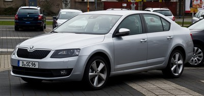 2005 Skoda Octavia with License plate N5B7U4