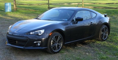 2012 Subaru BRZ with License plate DNDMCR